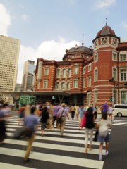 around TOKYO railway station