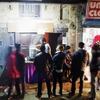 Food stalls at night Thamel, KTM