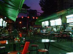 夜の食堂街
