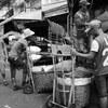 Distribution in Khlong toei market