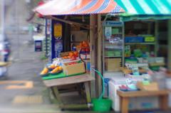 Greengrocery (Yokosuka, Lensbaby)