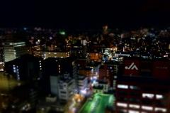 夜の仙台市