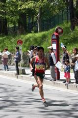 川内選手(2012 仙台ハーフマラソン)