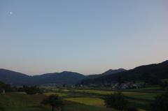遠野の夕景