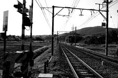 田舎の線路