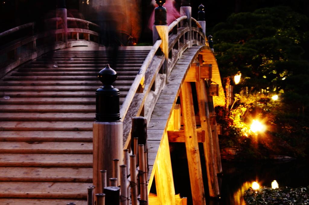 栗林公園 偃月橋