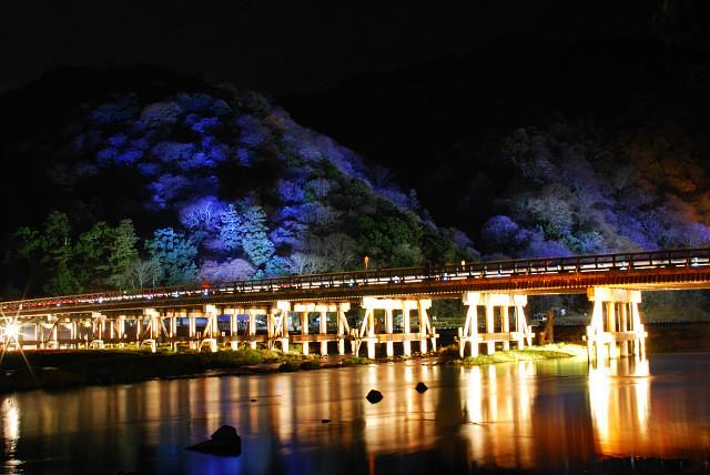 花灯路(渡月橋)