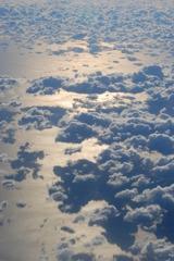 空に浮かぶ綿