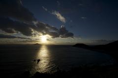 伊良湖の夕日