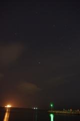 星降る苫小牧港