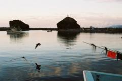 午後の漁港