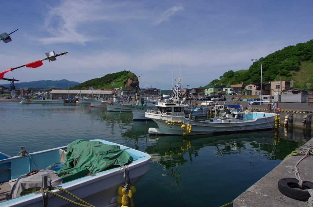 イタンキ漁港