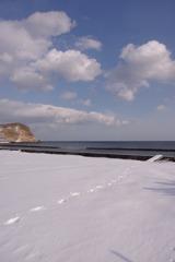 雪と海と雲と