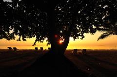 シルエットビーチ
