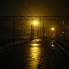 夜の北上駅