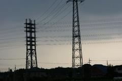 265,000V超高圧送電線