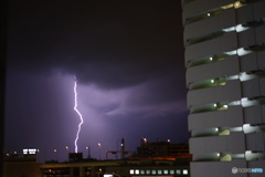 落雷と夕立