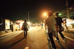 「夏」 花火祭り 「終了」 P1