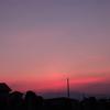 8月9日の夕焼け