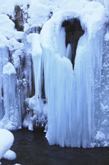 氷のガウン