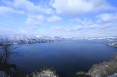 冬の瞰湖台
