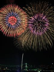 東京湾大華火祭01