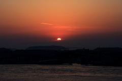 31Fから見た夕日