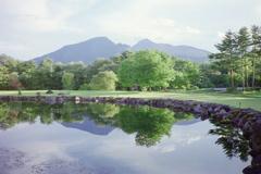 裏磐梯水辺の風景