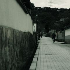土壁ストリート