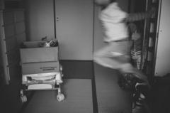 跳躍と残像