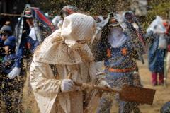 砂掛け祭り