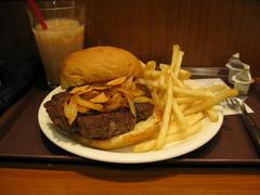 ハンバーガーが4個分くらいかな