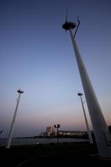 風車とおっさん