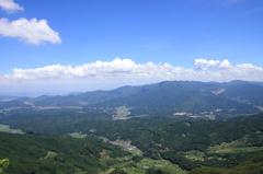 八幡岳からの眺望