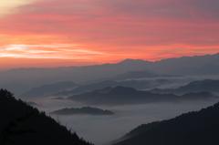 奈良県野迫川村の雲海4