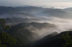 奈良県野迫川村の雲海11