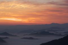 奈良県野迫川村の雲海6