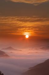 奈良県野迫川村の雲海8