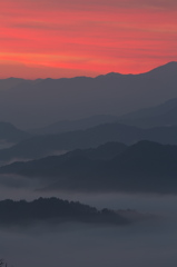 奈良県野迫川村の雲海3