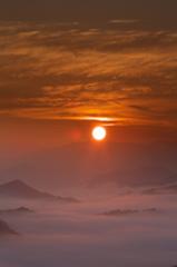 奈良県野迫川村の雲海7