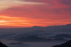 奈良県野迫川村の雲海5