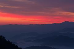 奈良県野迫川村の雲海2