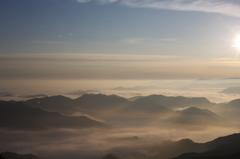 奈良県野迫川村の雲海10