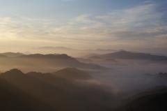 奈良県野迫川村の雲海9