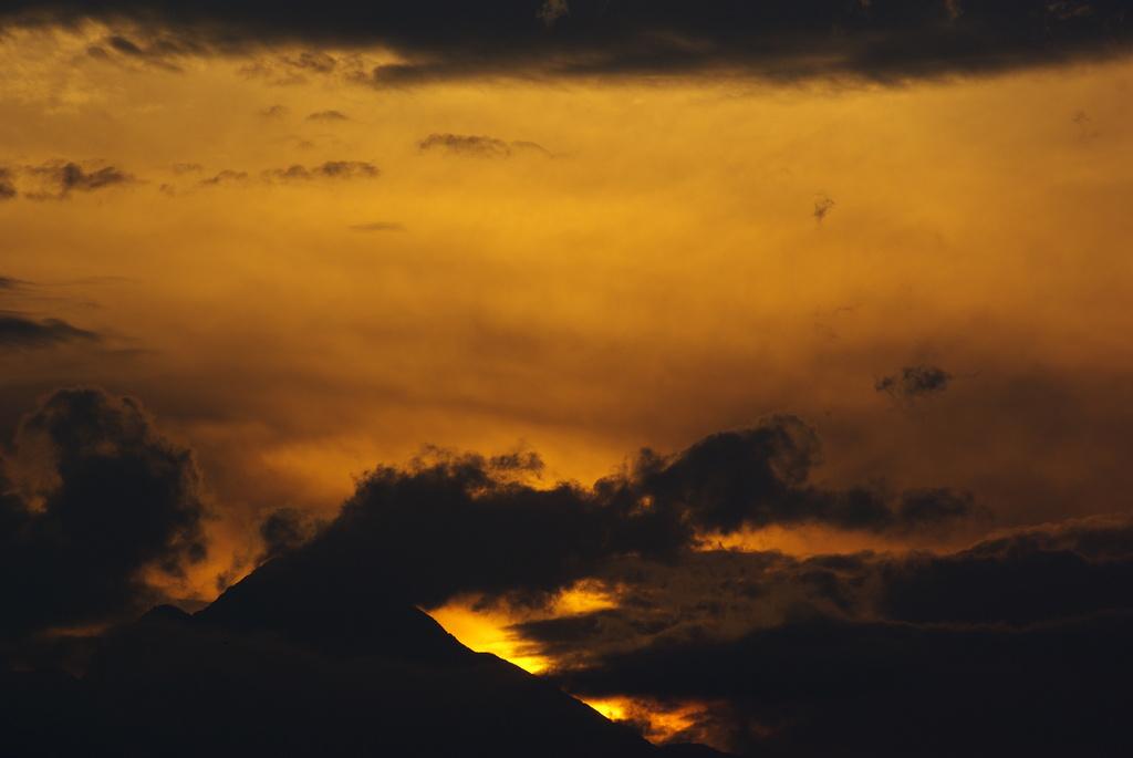 黄金色の空