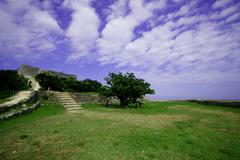 世界遺産 沖縄 勝連城跡-5