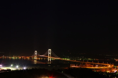 night road -白鳥大橋-