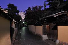 金沢・風情-長町武家屋敷跡界隈-