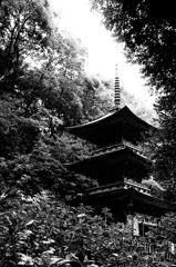 白山信仰の寺 那谷寺 三重の塔