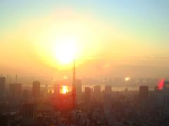 東京の目覚め